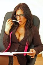 secretaria gafas